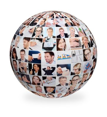 Large set of various business images